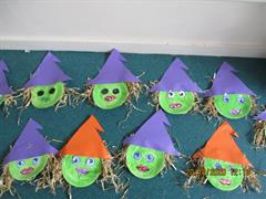 October in Senior Infants