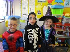 October in Junior Infants